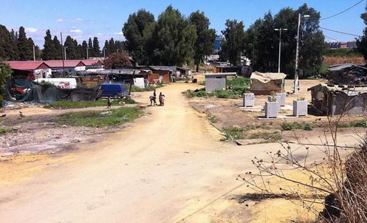 Asentamiento chabolista del Vacie