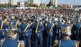El Polígono de San Pablo acogió el certamen de Bandas en honor a Santa Cecilia