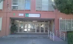 Entrada del CEIP Los Arrayanes