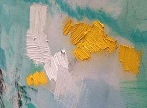 Detalle de la obra de Ángela Mena
