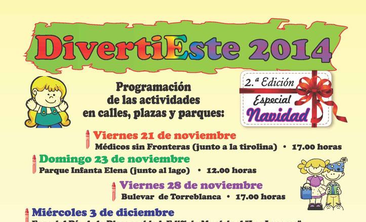 Actividades infantiles en «DivertiEste 2014»