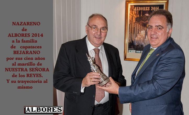 Entrega del premio «Nazareno de Albores» 2014