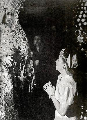 Evita, frente a la Macarena