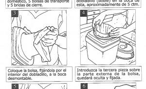 Fragmento de las instrucciones / Biouniversal