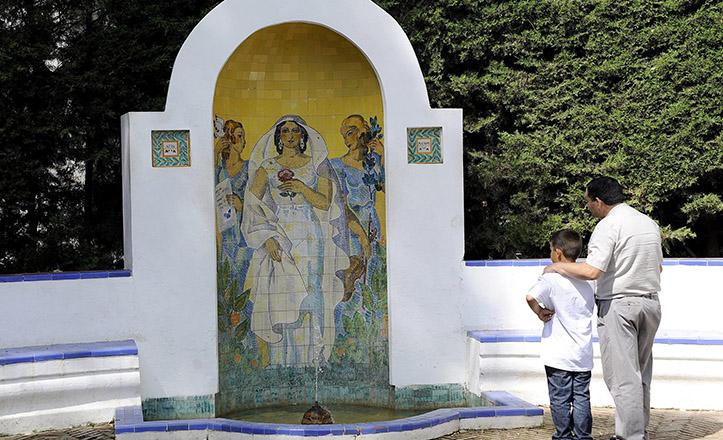 Glorieta de Ofelia Nieto, en el Parque de María Luisa / Jesús Spínola