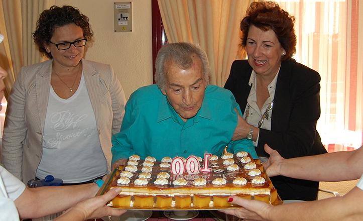 Ignacio Domínguez cumple 100 años