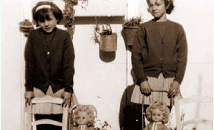 Los juguetes que tenían las niñas de Triana