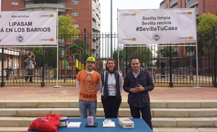 «Lipasam está en los barrios», con Rafael Belmonte