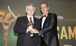 Lipasam recibiendo el premio Andalucía Excelente