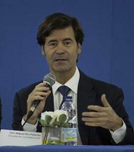 Miguel Rus, presidente de la CES / F. P.