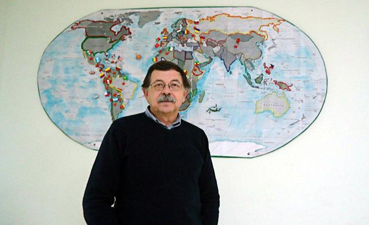 El director del CEIP San José Obrero, Miguel Rosa