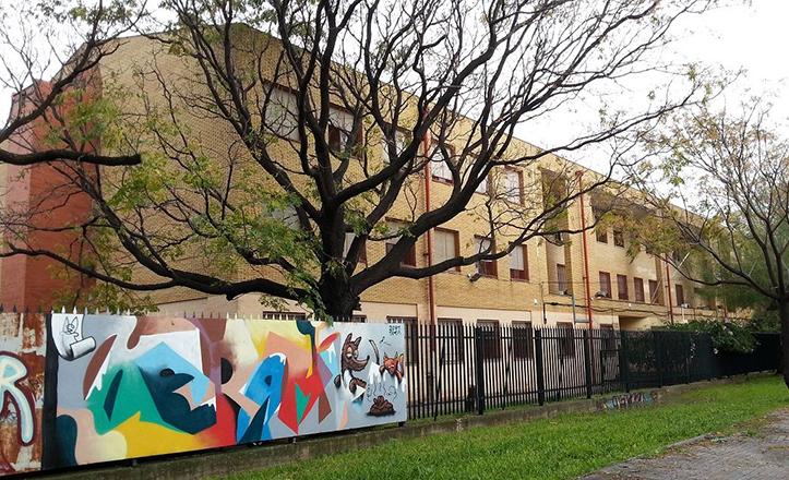 Exterior del IES San Pablo