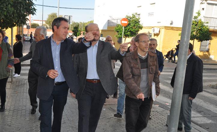 Espadas reclama que se licite ya la construcción del primer bloque de Los Pajaritos