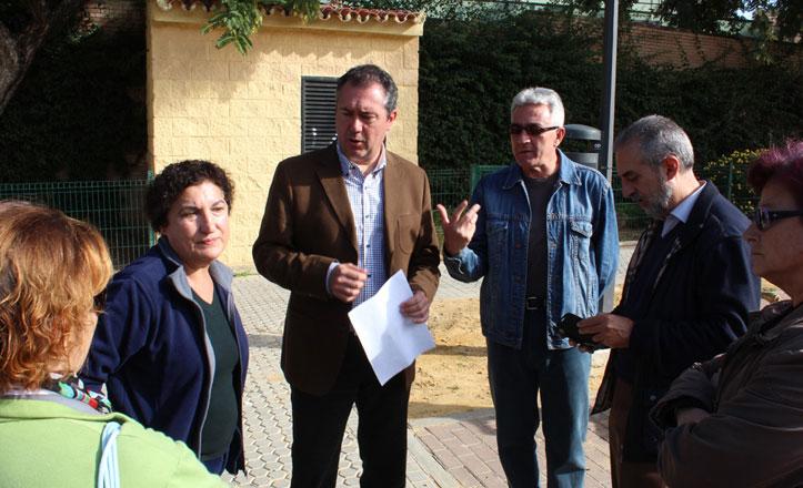Espadas anuncia para el próximo mandato un centro vecinal en el Parque Estoril