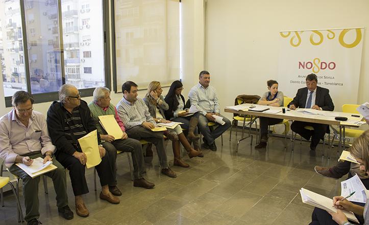 Momento de la Junta Municipal del Distrito Este-Alcosa-Torreblanca de noviembre 2014 / Fran Piñero