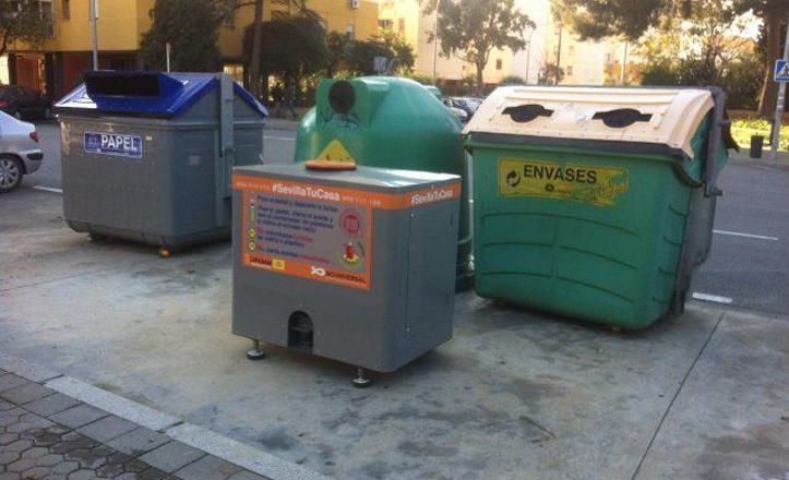 «Contenedores inteligentes» ya instalados en el Cerro Amate