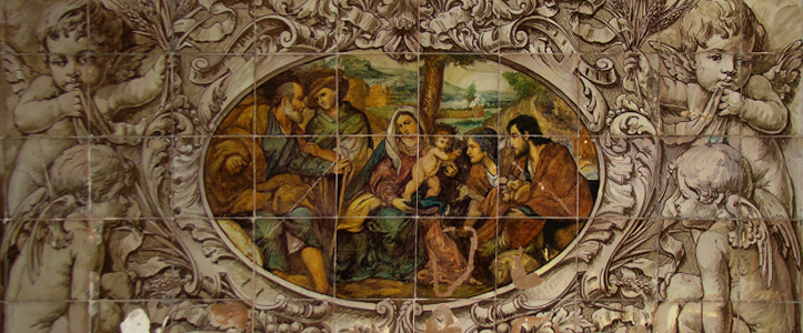 La adoración de los pastores de San Cayetano se basa en la obra de Jacopo Negretti / R. C.