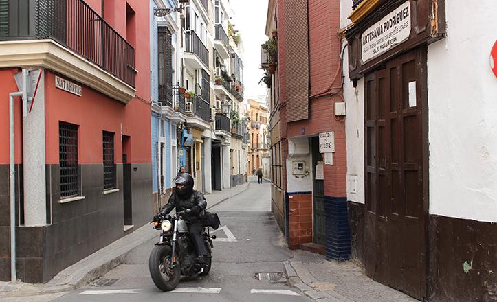 La céntrica calle Matahacas fue conocida antaño como calle Infierno, al igual que la calle Águilas / Fran Piñero
