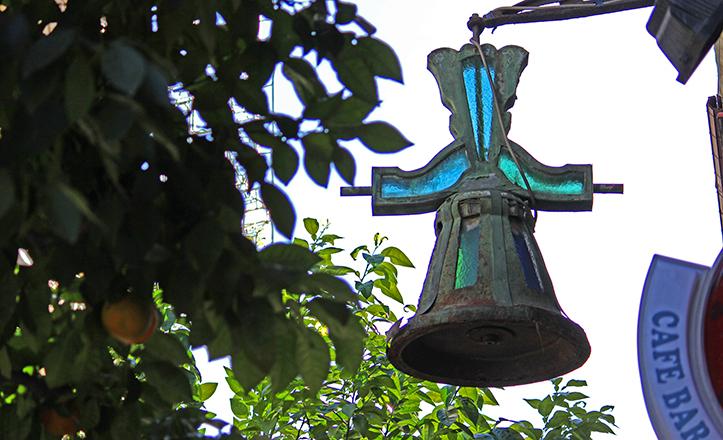 Campana del número 61 de la calle Feria / Fran Piñero