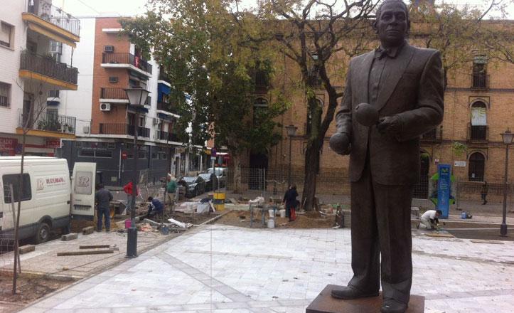 Finalizan las obras de reurbanización de la plaza Carmen Benítez