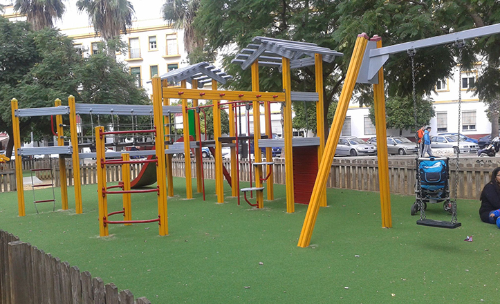 Nuevo parque infantil de Pedro Salvador