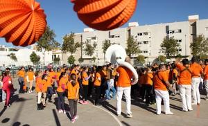 Festiva charanga por el Día de la Erradicación de la Violencia contra la mujer / Fran Piñero