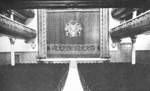 Patio de butacas del extinto Teatro Coliseo España