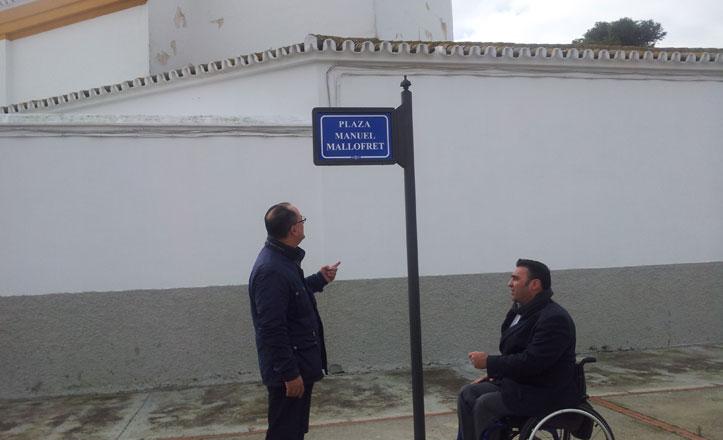 La plaza del Párroco Manuel Mallofret será renovada