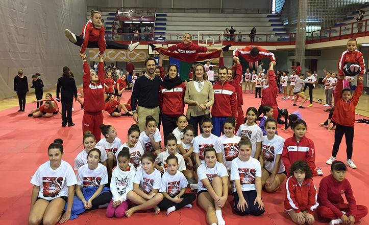 VI Trofeo de Navidad de Gimnasia Artística y Acrobática de Cerro-Amate