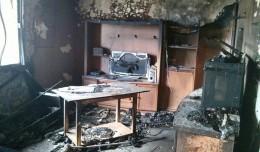 Incendio en la calle Ciudad de Cullera