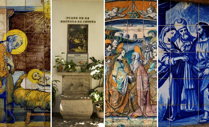 Azulejos de Navidad en Sevilla