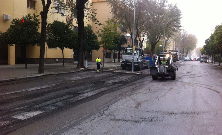 Nervión destinará más de 104.000 euros para asfaltado