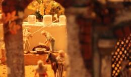 Escena del Belén reciclado de Jesús Ors y la A.M. Siete Rosas / Fran Piñero