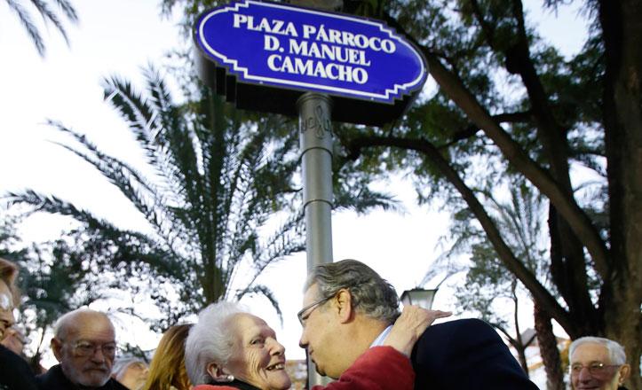 Manuel Camacho, el párroco que revivió la barriada del Retiro Obrero