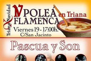 La Poleá Flamenca vuelve por Navidad a las calles de Triana