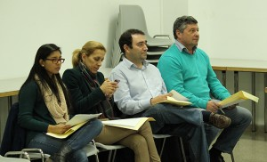 Portavoces del Grupo Popular en la JMD Este-Alcosa-Torreblanca de diciembre / F. P.