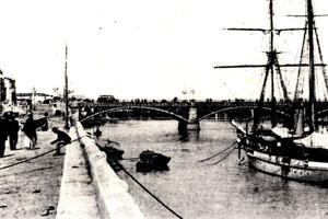 El pretil de la calle Betis, más de doscientos años de historia