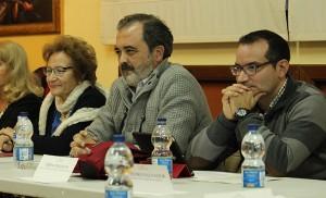 Conchita Rivas, Martín Fco. Jiménez y J. Antonio Gómez / F.P.
