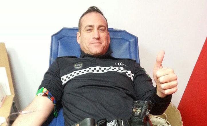 La Policía del Cerro-Amate celebra de nuevo el Maratón de Donación