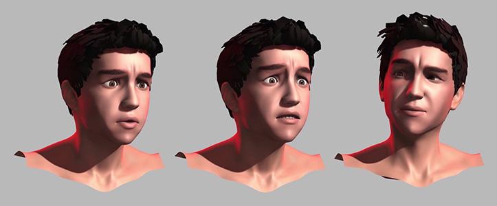 Face text de Óscar, la animación que versiona a Mario Casas.