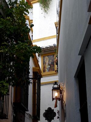 Azulejo de La Amargura en Rodrigo Caro / RetabloCerámico
