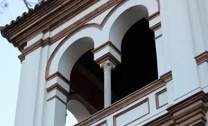 Arcos germinados de la casa de Aníbal González en La Palmera / F.P.