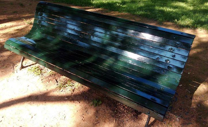 Mejoras en el mobiliario del Parque Amate