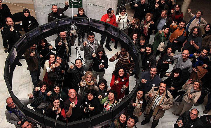New Year's Brunch de 2013 en la Casa de la Provincia de Sevilla