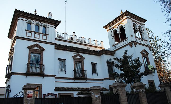 La casa de la familia de Aníbal González en la avenida de la Palmera, 14 / Fran Piñero