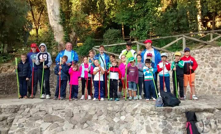 Imagen con la que participaba el Club de Pesca de Alcosa en el concurso de Infovitalia / F. Piñero