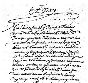 Extracto de la Real Cédula de 1503