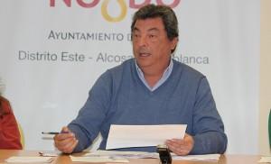 El presidente, Ignacio Flores / F.P.