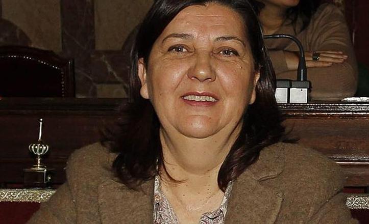 Josefa Medrano en una foto de archivo de 2012