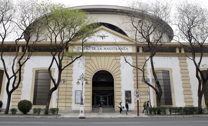 Exterior del Teatro de la Maestranza